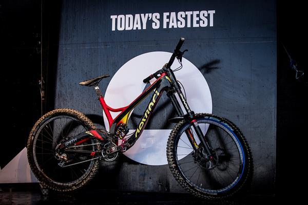 Smith's winning bike